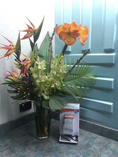 Mophett Vale Dental Clinic Flowers